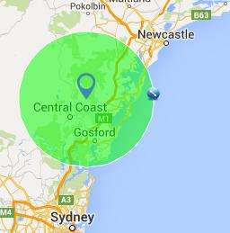 Central Coast Area
