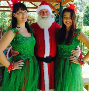 Christmas Faries & Santa 2014